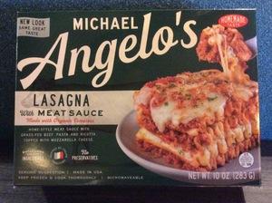 MichaelAngelo's Lasagna w/Meat Sauce